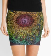 Mandala of Nieve Mini Skirt