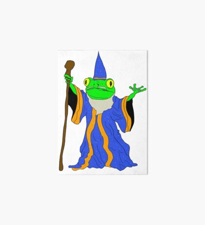 The Wizard of the Pond.  Art Board