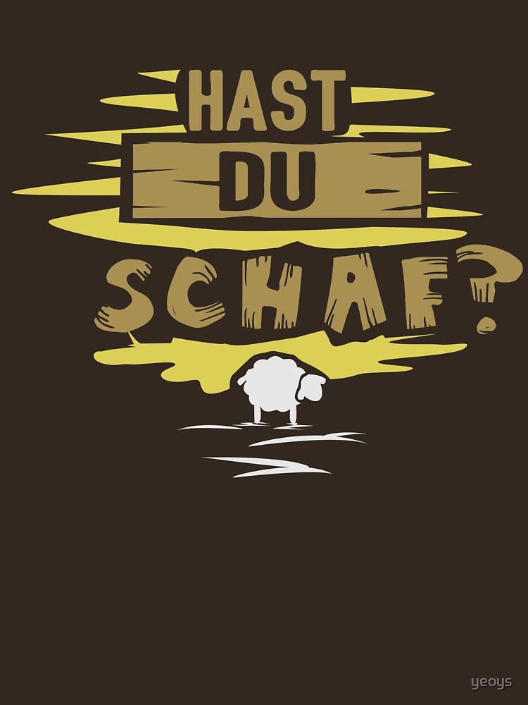 Hast du Schaf? - Brettspiel Spruch Geschenk by yeoys