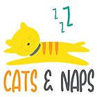 Cats & Naps  by NewADesigns