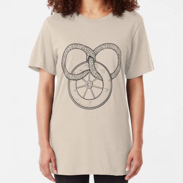 The Snake and the Wheel Slim Fit T-Shirt