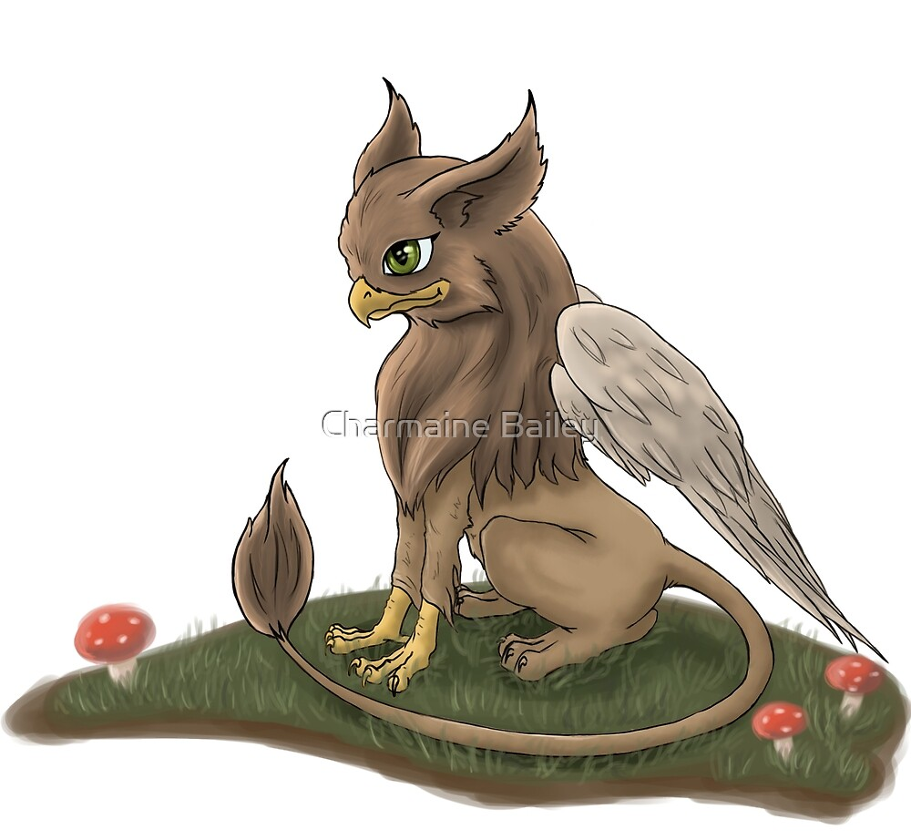 Cute Little Griffin by Charmaine Bailey