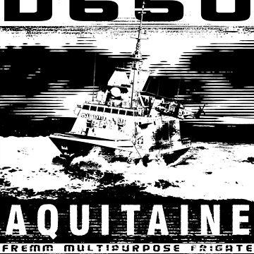 Frigate Aquitaine by deathdagger
