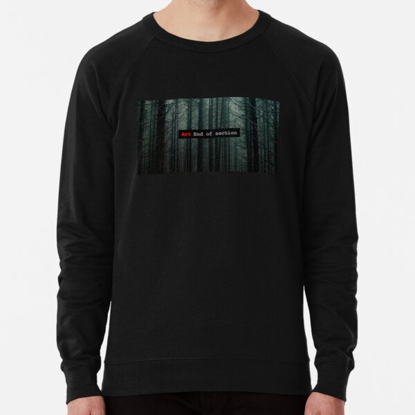 Art End of Section. Forest Sudadera ligera