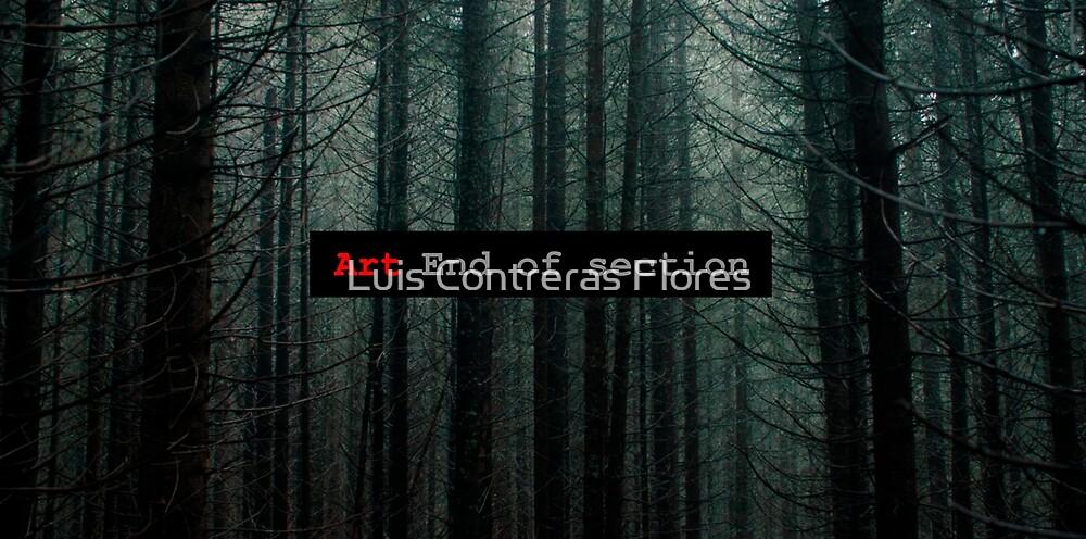 «Art End of Section. Forest» de Luis Contreras Flores