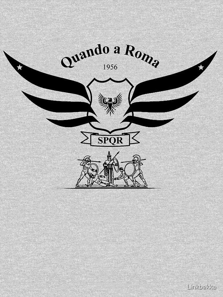 """Roman Legion Emblem with Wings and Shield SPQR"" T-shirt ..."