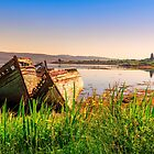 The old fishing boats by peaky40