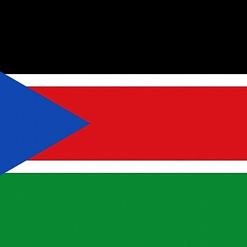 South Sudan flag by stuwdamdorp