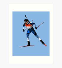 biathlon Art Print