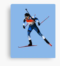 biathlon Canvas Print