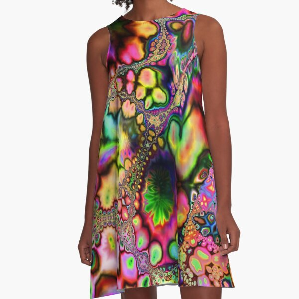 Acid Plasmosis  A-Line Dress