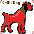 Chilli Dog - Food Animal  by Iskybibblle