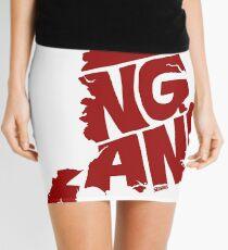 England Red Mini Skirt