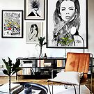 room with eclipsed by Loui  Jover