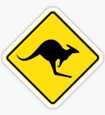 Australian Kangaroo Sticker