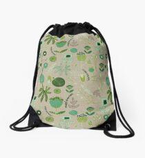 Emerald Forest beige #homedecor  Drawstring Bag