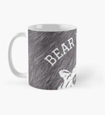 Bear with me - fur in the background Mug