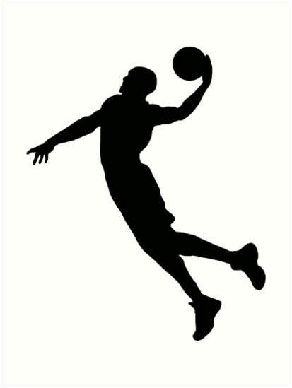 Russell Westbrook Silhouette Dunk