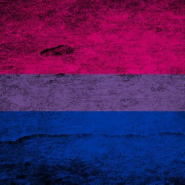 Bisexual flag | Grunge style by DamnSanvers
