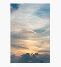 Stormy Sunset Photographic Print
