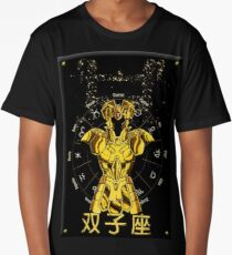 Golden Knights Gemini The Knights of the Zodiac  Long T-Shirt
