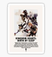 KINGDOM HEARTS BIRTH BY SLEEP Sticker