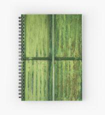 Green Erosion Spiral Notebook
