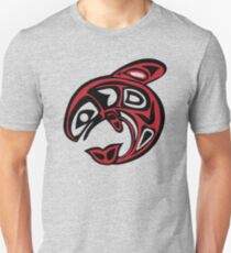 Orca Killer Whale Native American Indian Unisex T-Shirt