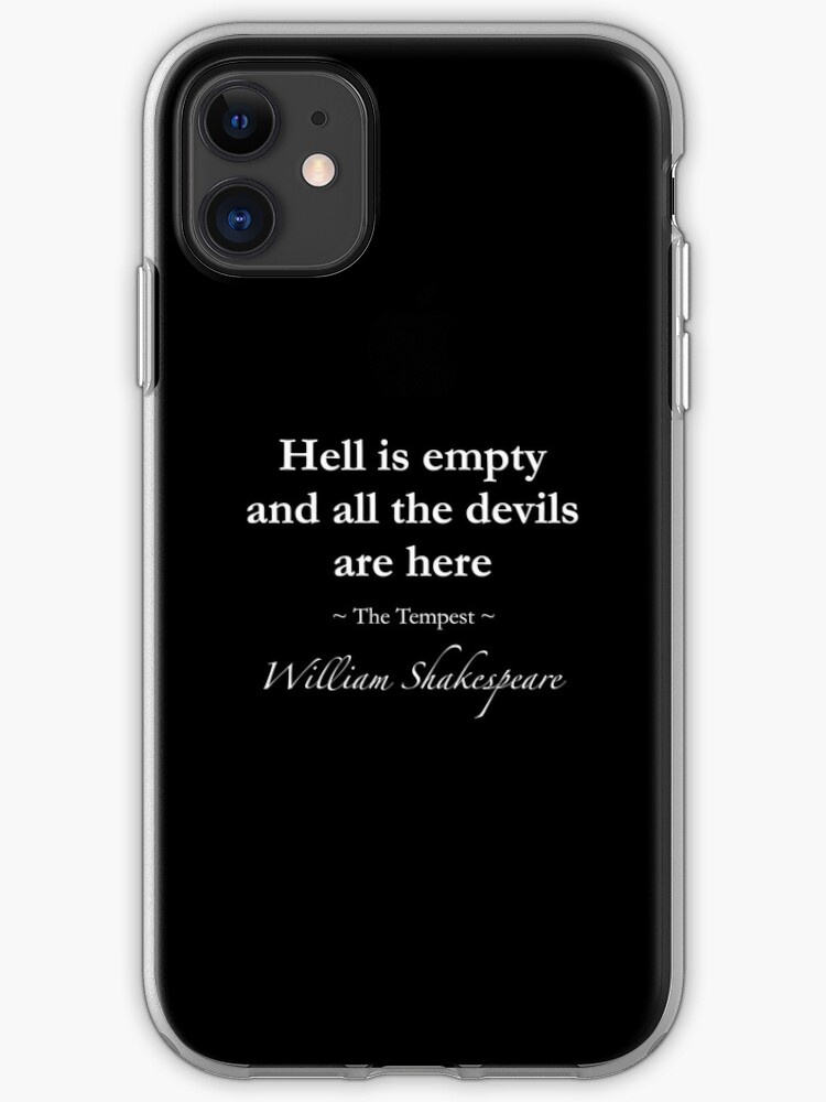 coque iphone 8 enfer