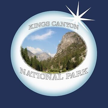 Kings Canyon National Park Sticker by henrytheartist