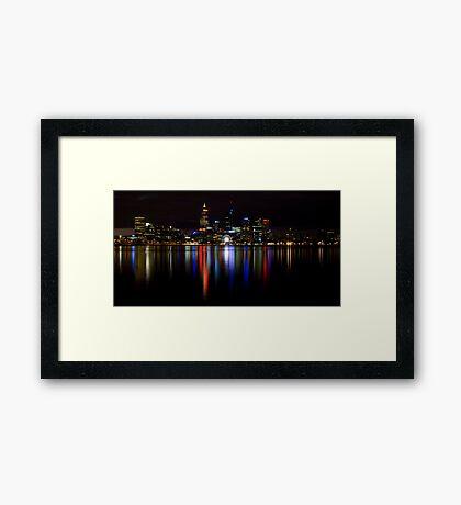 Night View.1 Framed Print