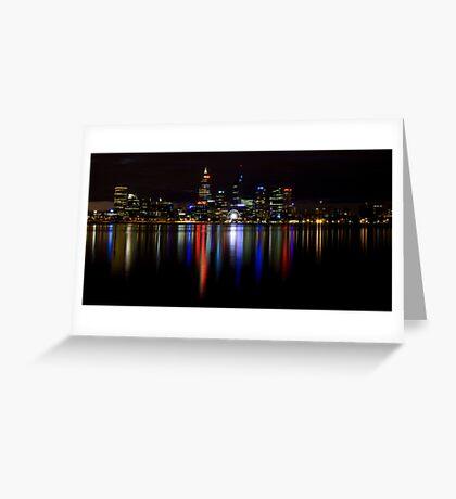 Night View.1 Greeting Card