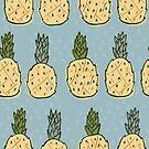 Pineapple Paradise Pattern  by kellie-jayne