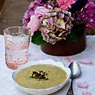 Soup and Flowers by Ilva Beretta