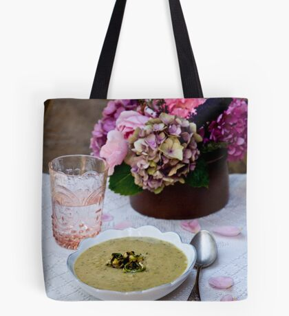 Soup and Flowers Tote Bag