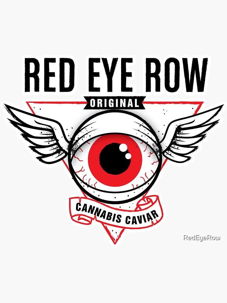 Red Eye Row Label by RedEyeRow