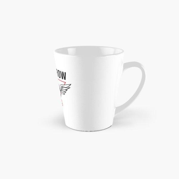 Red Eye Row Label Tall Mug