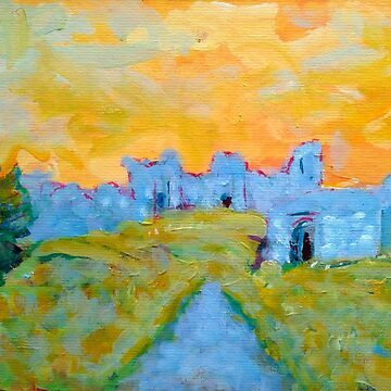 The Rock of Dunamase (County Laois, Ireland) by eolai