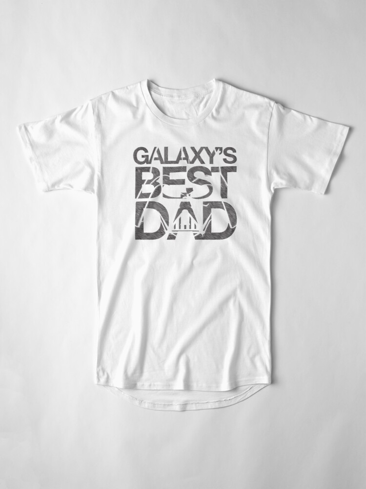Alternative Ansicht von Galaxy's bester Papa Longshirt