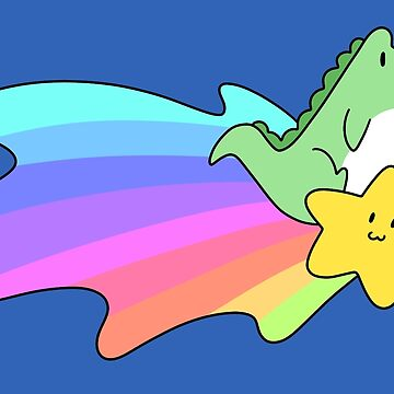 Rainbow Shooting Star Alligator  by SaradaBoru