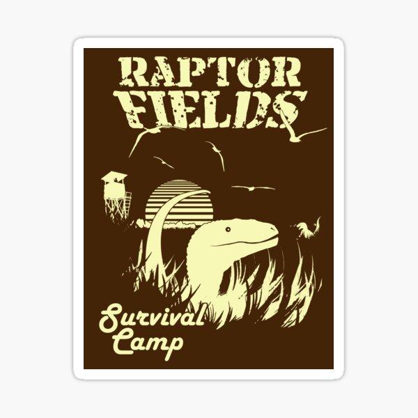 Raptor Fields Survival Camp Sticker