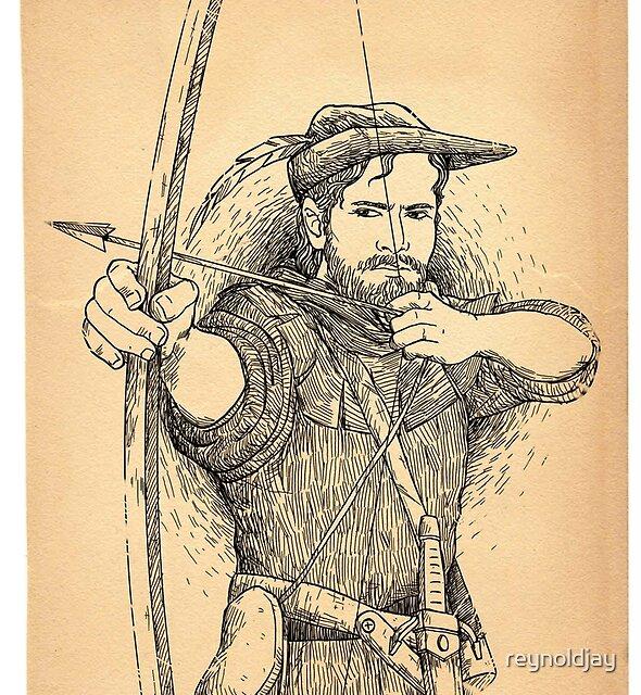 Robin Hood, The Legend: Parchment by reynoldjay