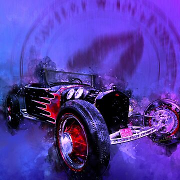 23 T Rat Rod Roadster Rumble Rated R by ChasSinklier