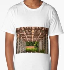 Shapes and Patterns at Brookgreen Gardens Long T-Shirt
