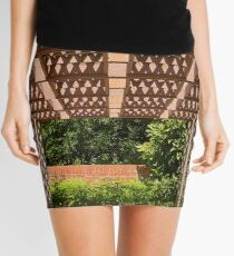 Shapes and Patterns at Brookgreen Gardens Mini Skirt