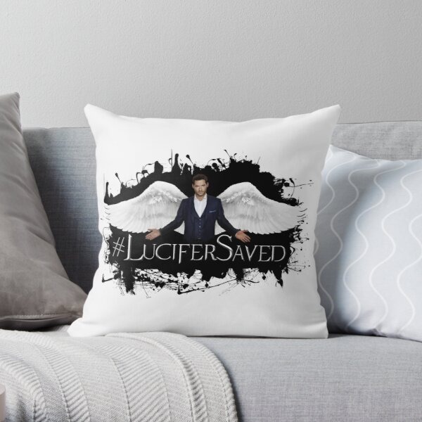 #LuciferSaved Coussin