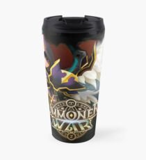 Artamiel and Fermion - Light Archangel between Dark Archangel - Summoners War  Travel Mug