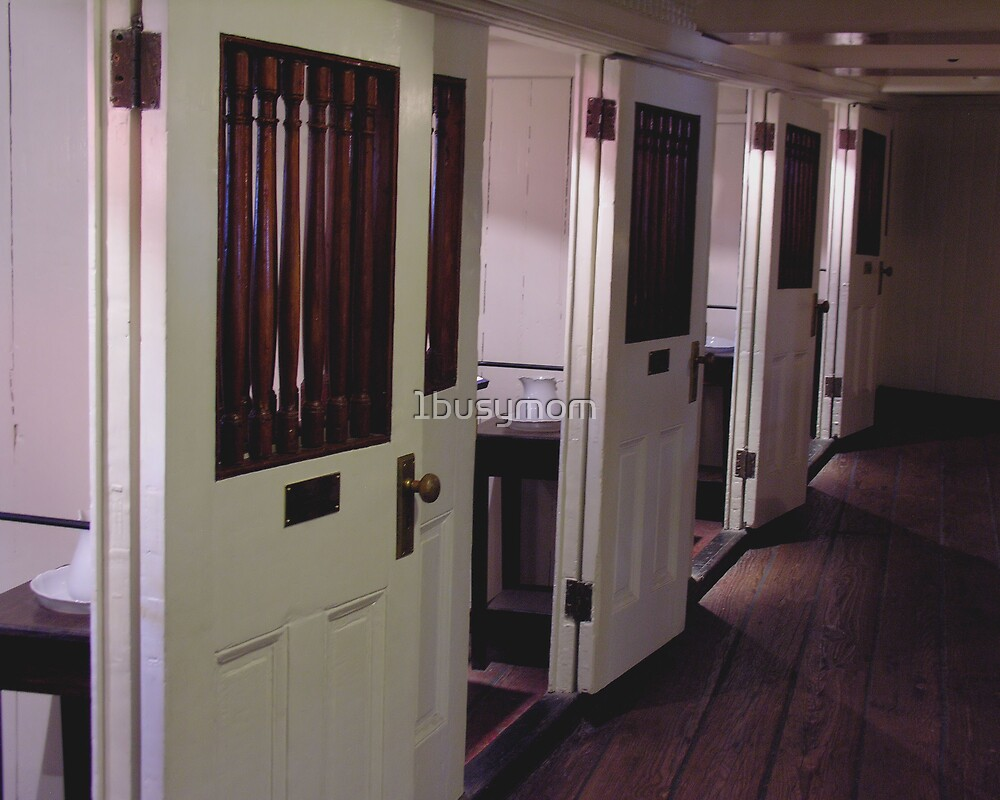 officer's quarters in line by 1busymom