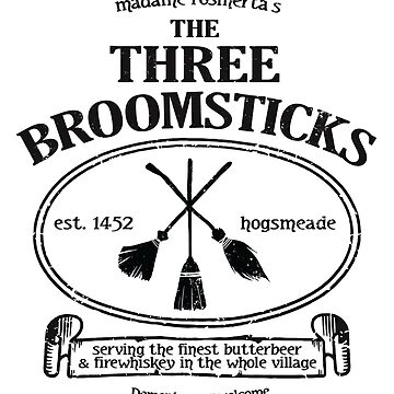 The Three Broomsticks by Purakushi