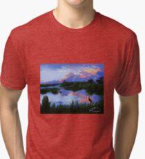 Creole Opal Tri-blend T-Shirt